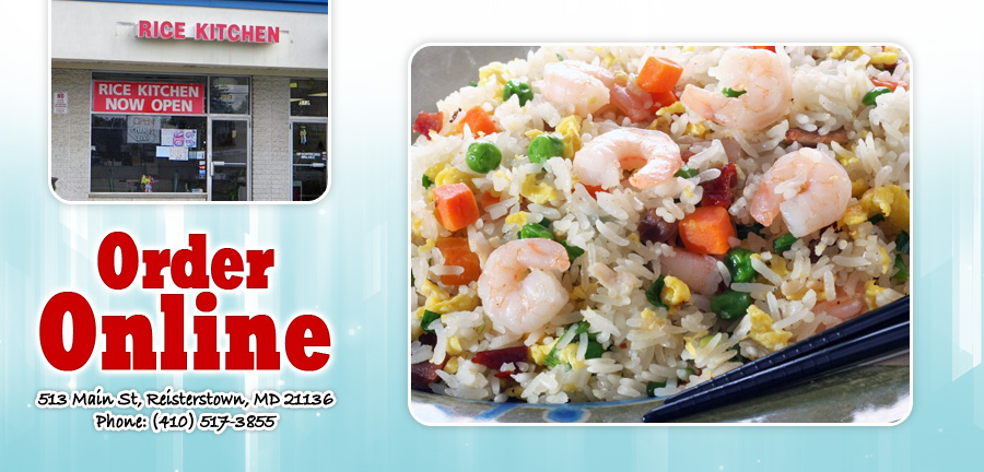 Rice Kitchen | Order Online | Reisterstown, MD 21136 | Chinese