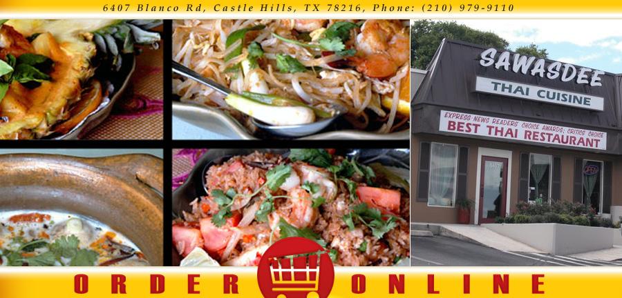 Sawasdee Thai Cuisine Order Online Castle Hills Tx 78216 Thai