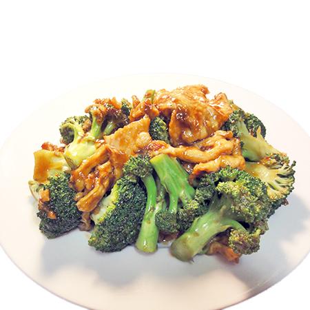 chicken w. broccoli