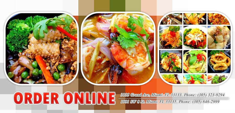Thai Kitchen asian thai kitchen sushi | order online | miami, fl 33133 | thai