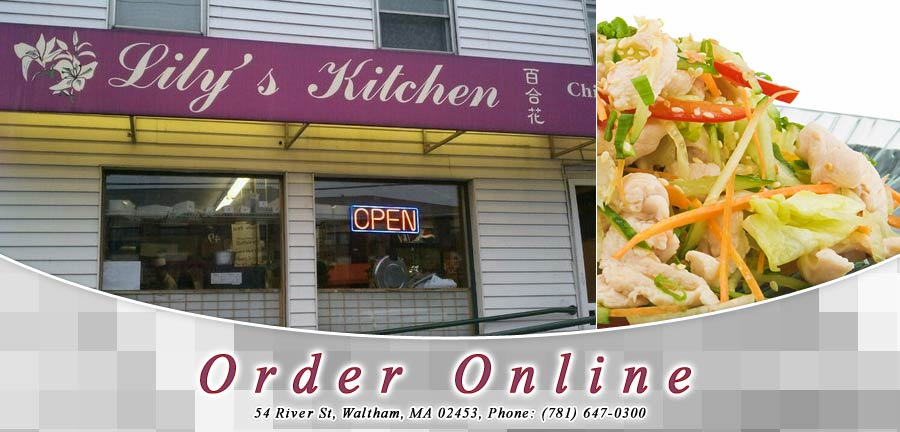 Lily 39 S Kitchen Chinese Restaurant Order Online Waltham Ma 02453 Chinese