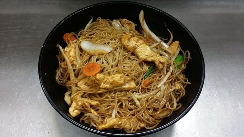 Chicken Cantonese Lo Mein