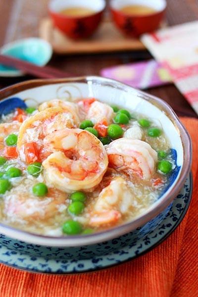 Shrimp w. Lobster sauce