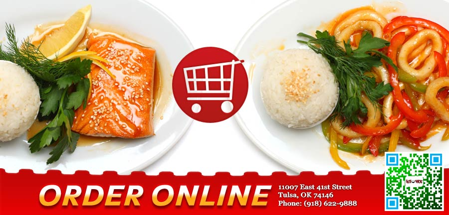 Hot wok order online tulsa ok 74146 chinese for Asian cuisine tulsa