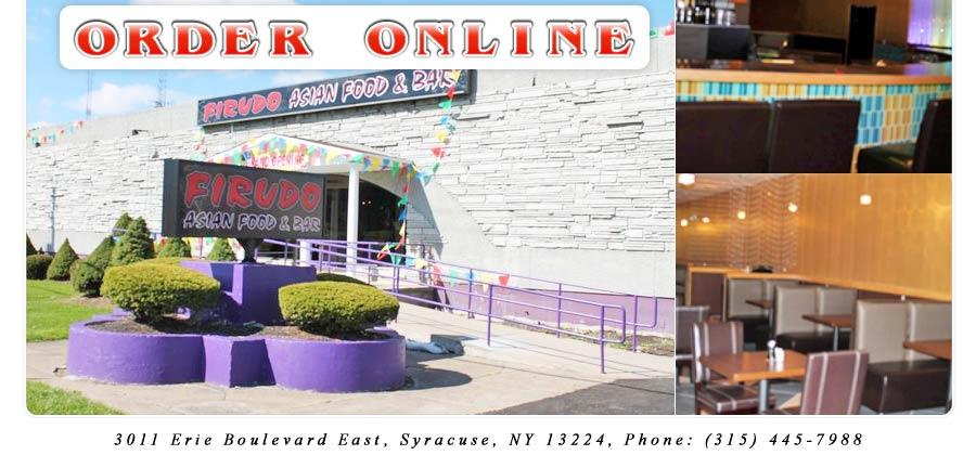 Firudo Asian Food & Bar | Order Online | Syracuse, NY ...