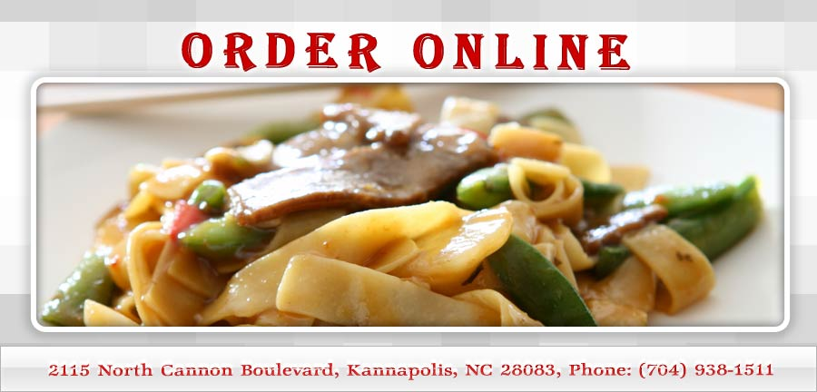 China Kitchen Online Kannapolis Menu