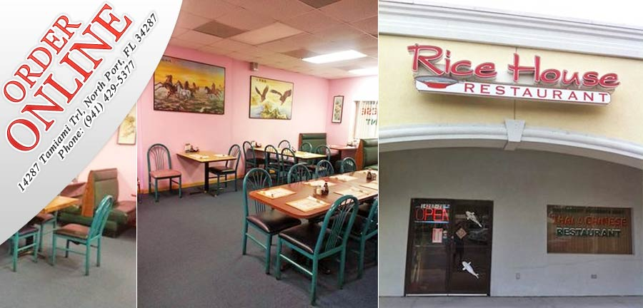 Delicieux Rice House Restaurant | Order Online | North Port, FL 34287 | Chinese