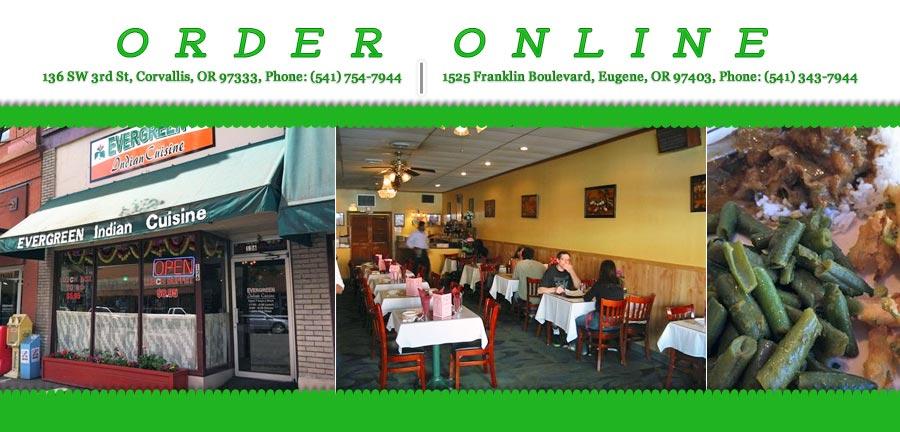 Evergreen Indian Cuisine Order Online Corvallis Or 97333 Indian