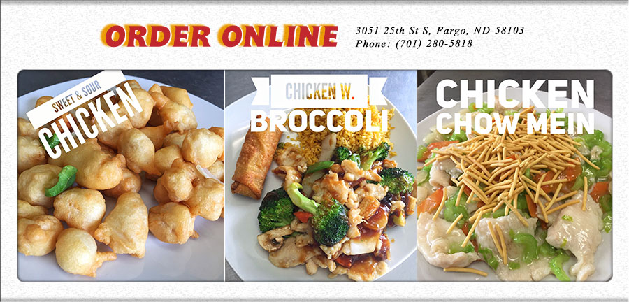 Chinese Food Delivery In Fargo Nd