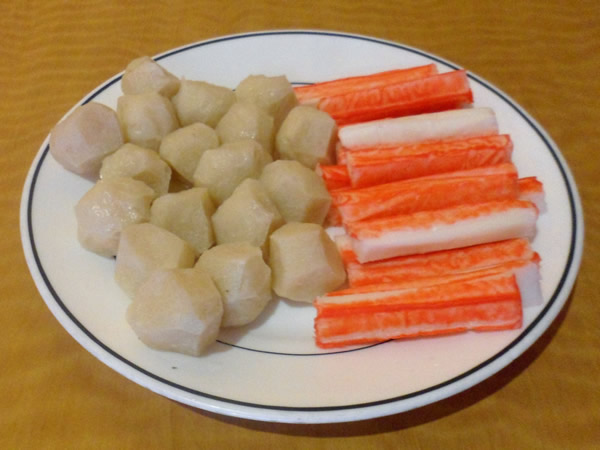 Fishball and Crab Sticks