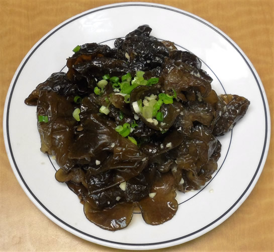 Wood Ear in Garlic Sauce