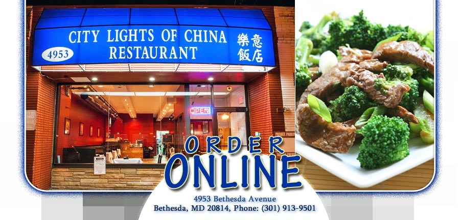 City Lights Of China | Order Online | Bethesda, MD 20814 | Chinese Awesome Ideas