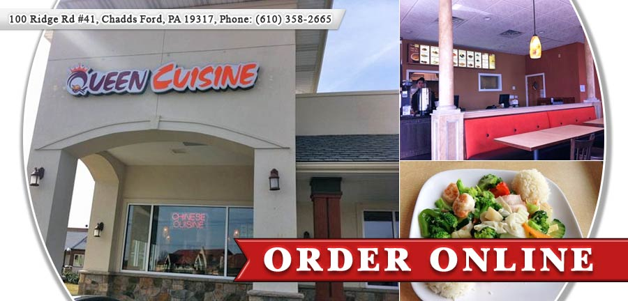 Queen cuisine chinese restaurant order online chadds for Cuisine queen catering