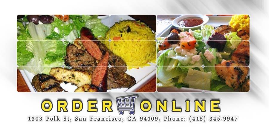 Aicha moroccan order online san francisco ca 94109 for Aicha moroccan cuisine san francisco