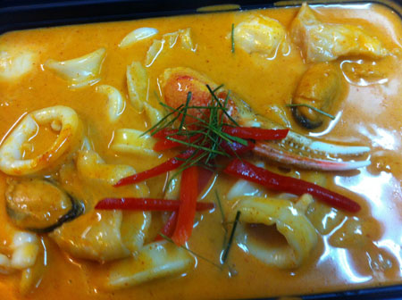 Mix Seafood Curry