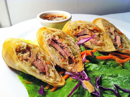 Crispy Duck Roll