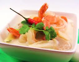 tom kha seafood soup