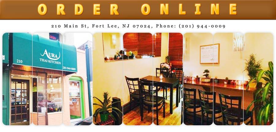 Aura Thai Kitchen Menu