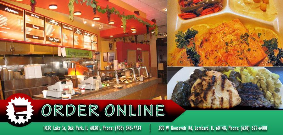 Jerusalem Cafe Oak Park Menu