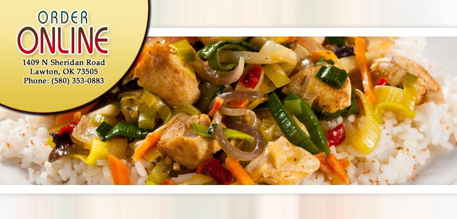 Chinese Food Menu Lawton Ok