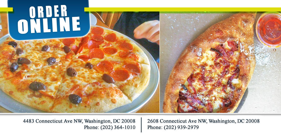 Italian Pizza Kitchen | Order Online | Washington, DC 20008 | Italian