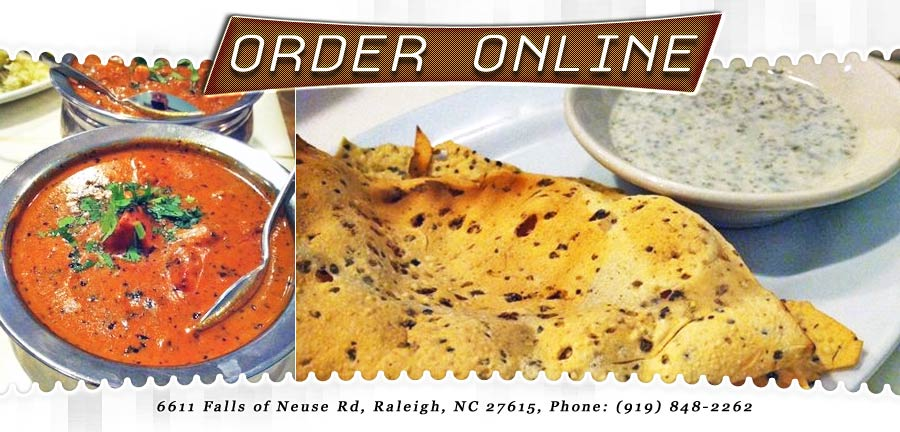 Taj mahal indian cuisine order online raleigh nc for Artisan cuisine of india