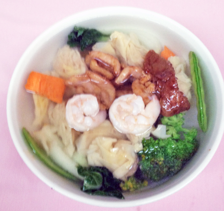 B2 wonton soup