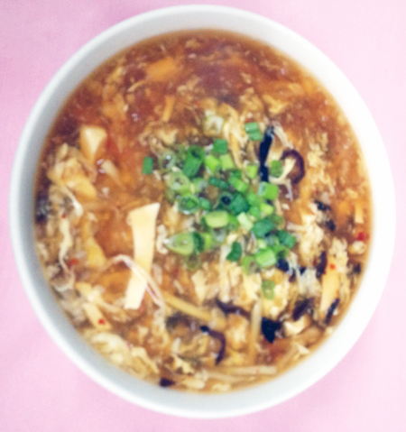 B3 hot & sour soup
