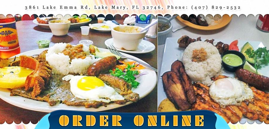 La Antioquena Restaurant Order Online Lake Mary Fl 32746 Columbian