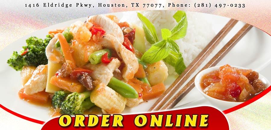 Cafe  Chinese Restaurant Houston Menu