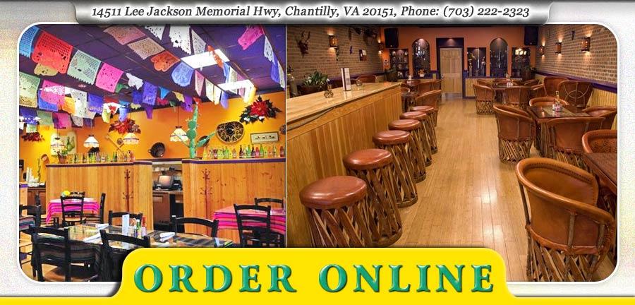 Picante Order Online Chantilly Va 20151 Mexican