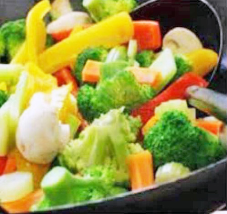 Salted vegetables