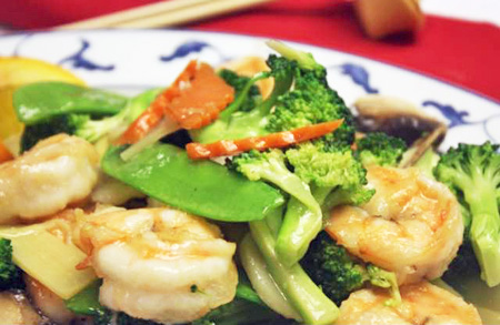 Vegetable shrimp