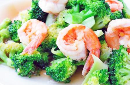 Broccoli shrimp