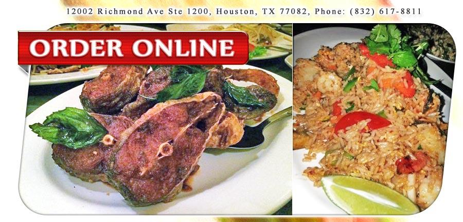 Little Thai Cafe Menu Houston