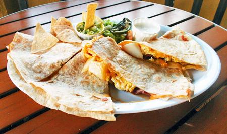 breakfast quesadilla`