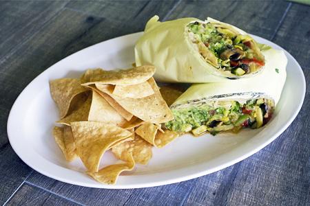 Grilled Veggie Burrito (6)