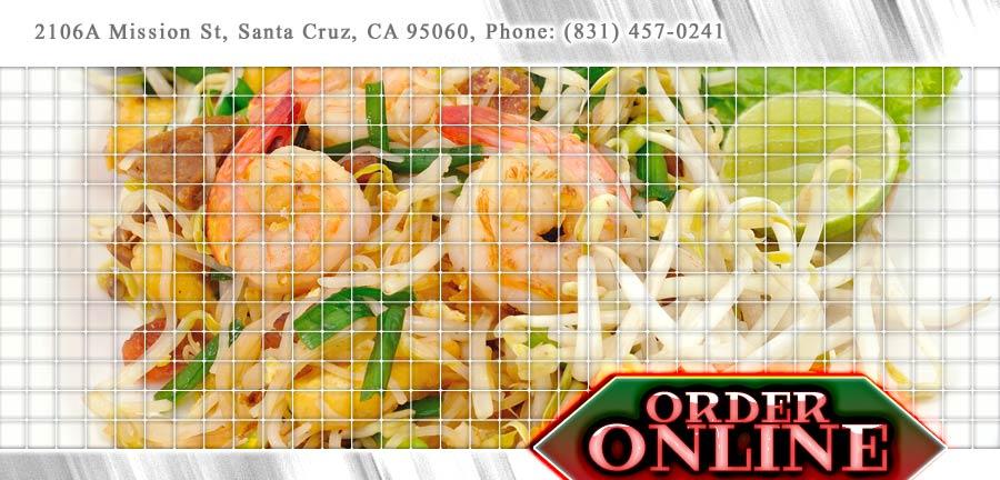 At Thai Recipe Order Online Santa Cruz Ca 95060 Thai