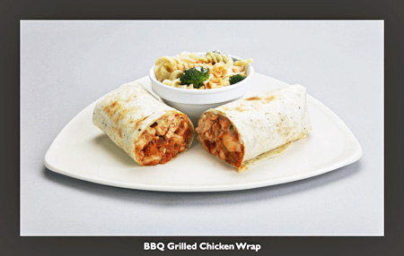 mmg - BBQ Grilled Chicken Wrap
