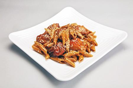 mmgSesame Chicken Teriyaki Pasta