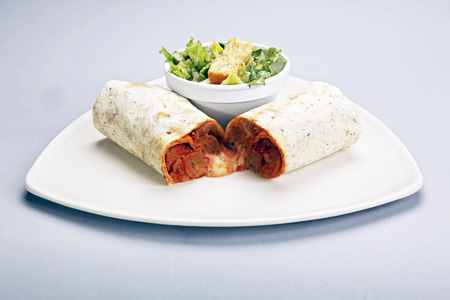 mmgTurkey Meatball Wrap