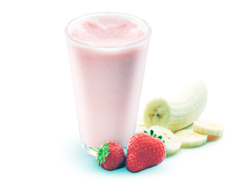 Shake-strawberry-banana-yogurt-smoothie-recipe