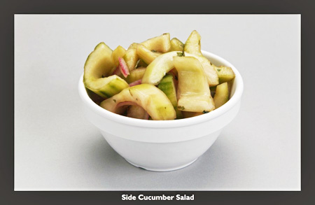 Side Cucumber Salad