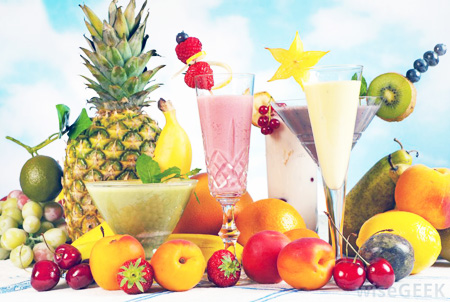 Smoothies-with-fruit