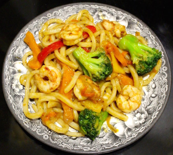 Shrimp Udon