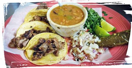 taquitos plate