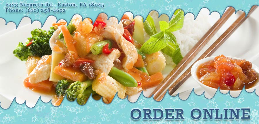 Great Wall Chinese Food Easton Pa