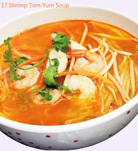 Shrimp Tom Yum Soup