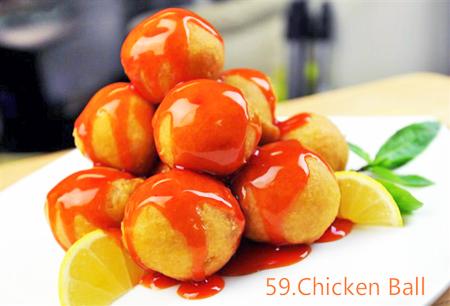 Sweet _ Sour Chicken Ball