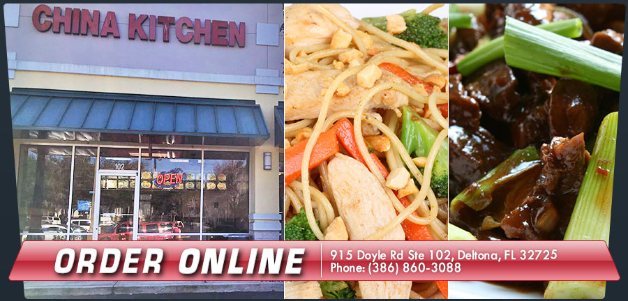 Chinese food deltona food for Lucky wok garden city